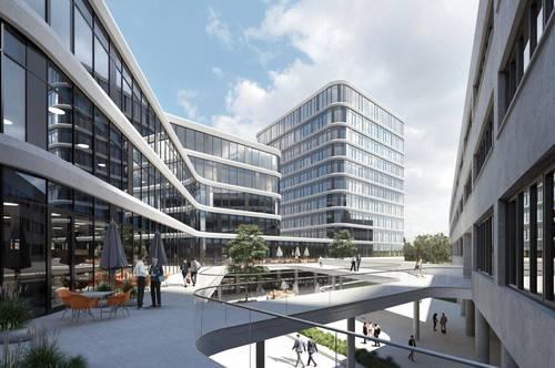 DIREKT VOM EIGENTÜMER - exklusive Büros im Techbase Office Tower, teilbar