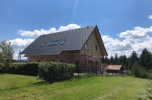 Erstbezug! Wohnen im Einklang mit der Natur! Moderne 2-Zimmer Dachgeschosswohnung mit Grünblick in Edelschrott zu vermieten!
