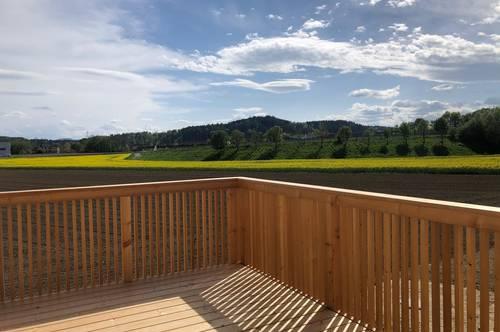 Neubauprojekt! Terrassentraum! 3-Zimmer Maisonettenwohnung in ruhiger Einfamilienhauslage in Weitendorf/Wildon!