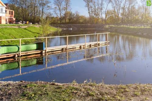 Bruck a.d.Leitha/Prellenkirchen: Nur noch kurze Zeit: Wohnen am Wasser statt € 329.000 jetzt € 299.000
