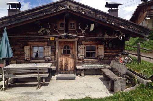 Rarität: Hütte mitten auf der Piste zu vermieten