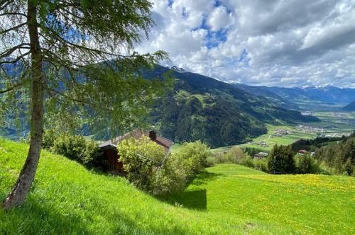 top aktuell: Berghütte mit Traumblick auf der Sonnenseite zu vermieten