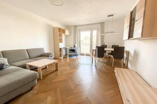 Möblierte 2 Zimmer Wohnung mit Balkon und Fernblick!