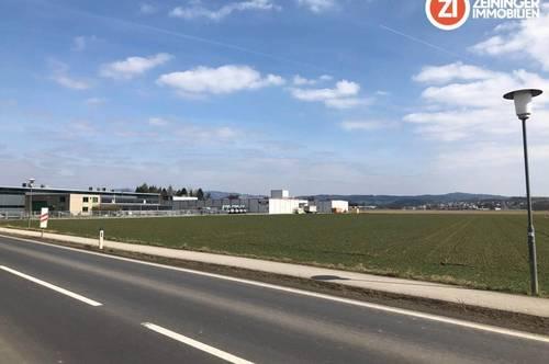 Betriebsbaugrundstück mit 11.168 m² auf langfristige Baurechts-BASIS zu vergeben