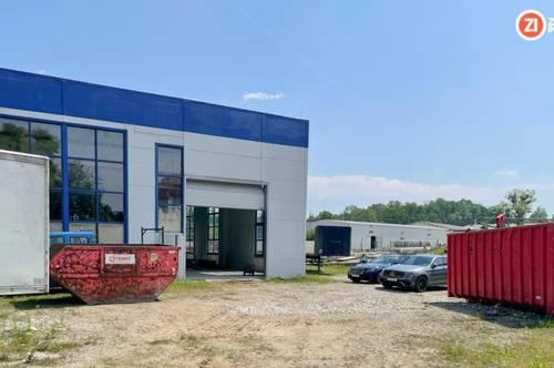 TOP Betriebsbaugrund zu kaufen - ca. 7300m² inkl. 1100m² Halle