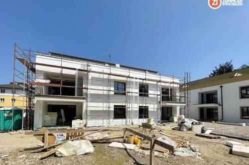Helle 3 ZI-Wohnung mit ca. 155m² Eigengarten / RIED living / provisionsfrei