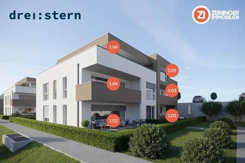 Drei:stern - Neubau 4 Zimmer-Penthouse Wohnung in Engerwitzdorf