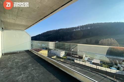 !ERSTBEZUG! Edle 4-Zimmer-Balkonwohnung über den Dächern von Linz