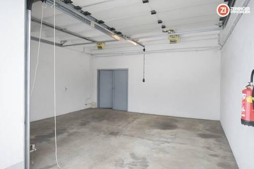 TOP Lagerfläche in der Neuen Heimat - ca. 335m² mit 4x Toren - auch als Garage