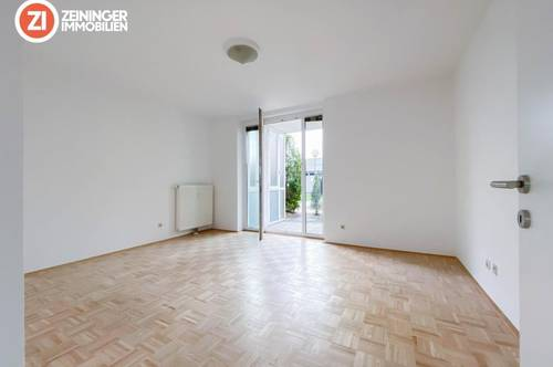 Schöne 4-Zimmer-Gartenwohnung mit Loggia und TG-Platz !Provisionsfrei!