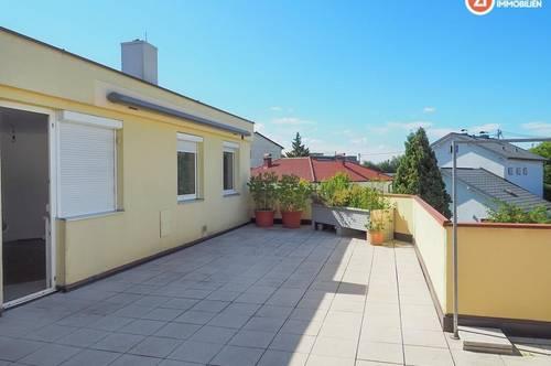 116m² - sehr großzügige, helle Wohnung in Ottensheim mit 2 Dachterrassen