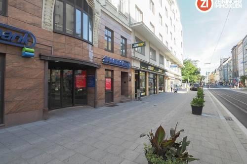 Geschäftslokal in absoluter BESTLAGE - direkt an der Linzer Landstraße