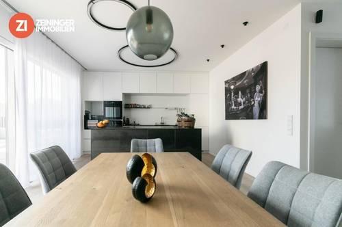 Wenn Luxus keine Grenzen kennt - Designpenthouse mit 360' Grad Blick auf Linz