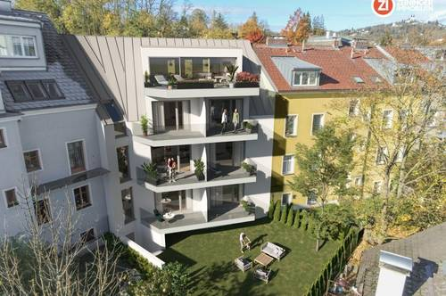 TAGA18 / Alt-Urfahr - Neubau - Maisonettewohnung mit Balkon - BAUSTART Ende 2020