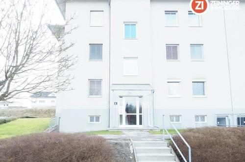 Provisionsfreie und geförderte 3 ZI - Wohnung mit Loggia und Parkplatz in Grieskirchen