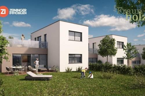 Stadtnahes Wohnen im Grünen in Toplage in Grieskirchen - Geförderte Doppelhaushälfte