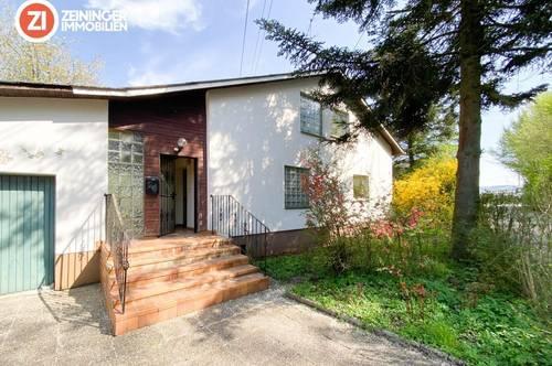 Gut geschnittenes Zweifamilienhaus in Alkoven mit viel Potential - perfekt für Heimwerker