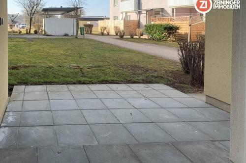 PROVISIONSFREIE geförderte 2- Zimmer Wohnung mit Terrasse und Parkplatz / LAAKIRCHEN
