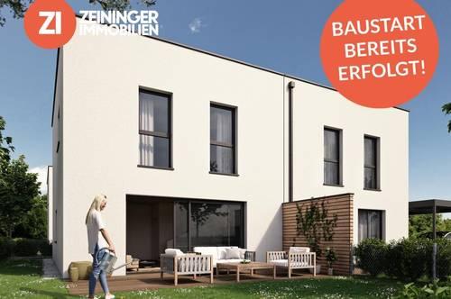 !BAUSTART BEREITS ERFOLGT!  - Geförderte Doppelhaushälfte in Strassham