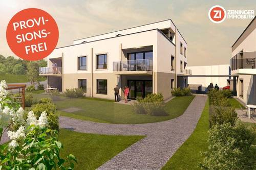 RIED Living / BAUSTART - PROVISIONSFREI Top A3 - Familienhit