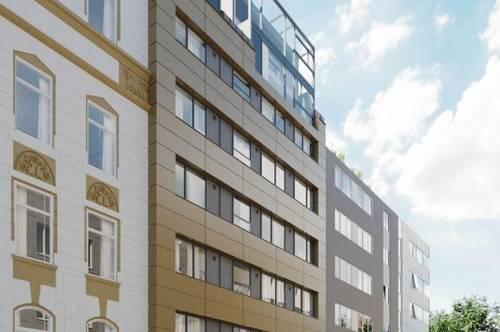Frisch saniert - ca. 101m³ Büro ERSTBEZUG - STIFTERSTRASSE mit Garten und Top Ausstattung