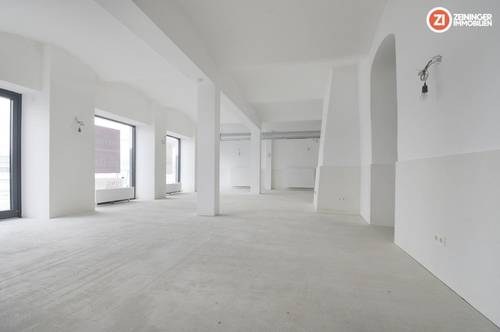 Komplett saniertes Lokal / Geschäft in Linzer Altstadt - ausbaufertig