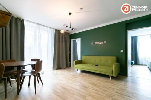 Möblierte 3- Zimmer Wohnung mit Balkon