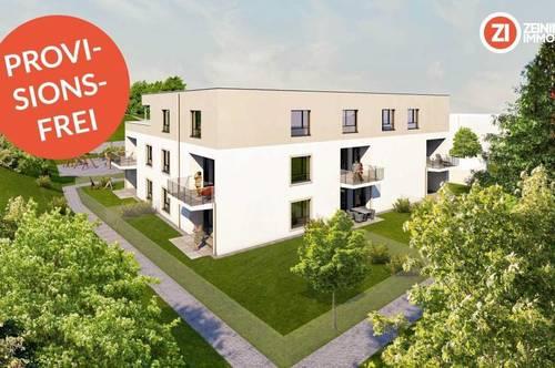 RIED Living / BAUSTART - PROVISIONSFREI Top B5 - Terrasse und Garten
