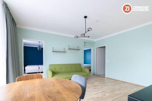 Schöne möblierte 3-Zimmer Wohnung mit Balkon