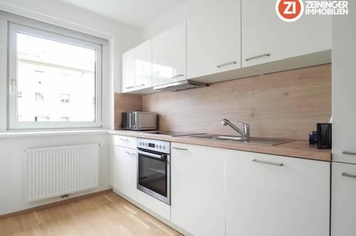 Lichtdurchflutete sanierte 3 ZI - Wohnung inkl. möblierter Küche