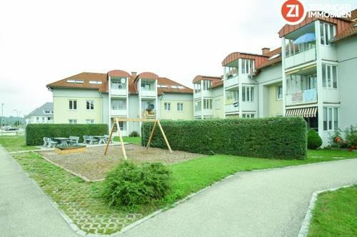 Praktische 3 ZI - Wohnung mit Loggia und Tiefgarage!