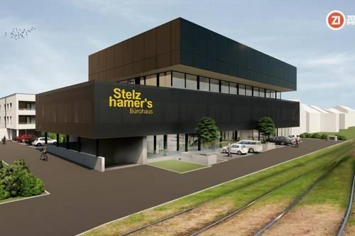 Neubau Geschäfts-/Schauraum nahe Plus City - 274m² - flexible Fläche