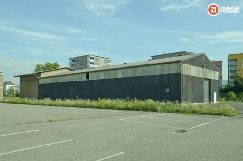 Lagerhalle ca. 581m² groß - Nähe Lenaupark