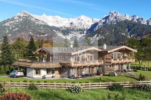 Exklusive Tiroler Haushälfte in Naturlage