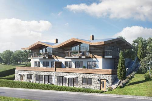 Wohnungen im alpinen Style an der Naturabfahrt