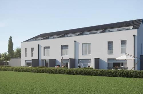 KOMM INS MUSTERHAUS!!! Reihenhausvillen mit Atelier und XXXL Dachterrasse in Rüstorf ( Top 2, Top 3, Top 4)