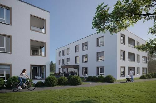 Verkaufsstart Wohnoase Hammerwerkgasse Vöcklabruck! Geförderte Eigentums- und Anlagewohnungen! TG-Platz für Schnellentschlossene kostenlos!