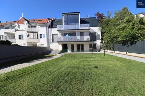 Provisionsfrei! Galerie-Terrassenwohnung in fast ländlicher Idylle in Unterlaa