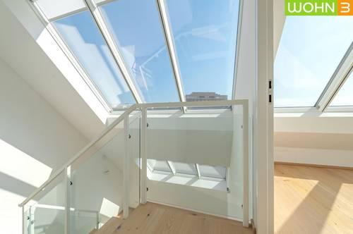 1180 WIEN, 104 m² traumhafte Dachgeschosswohnung mit ruhiger Innenhofterrasse, 4 Zimmer, 2 Bäder