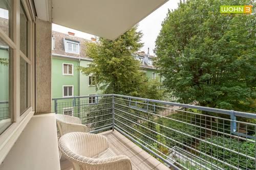 3-Zimmer Wohnung mit süd-seitigem Balkon ins Grüne in Hietzing - Ober St.Veit