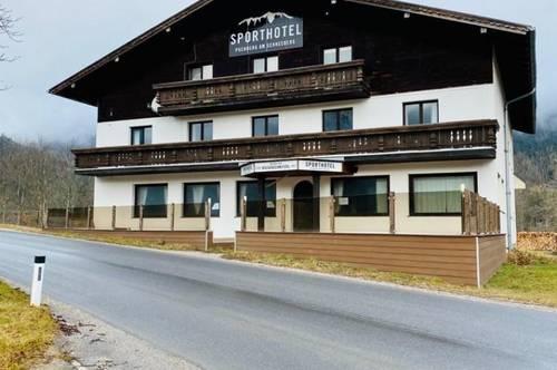 Sporthotel mit riesigem Erweiterungspotenzial!