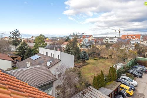 Zentrale Dachgeschosswohnung im Stadtzentrum von Gänserndorf (Ruhelage)