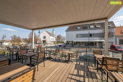 Modern ausgestattetes Eiscafé in Top-Lage