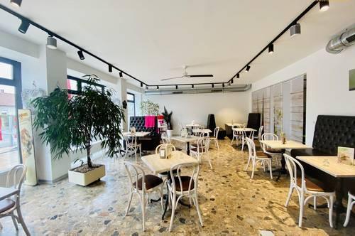 Eissalon, Café, Restaurant, Bar? Alles ist möglich!