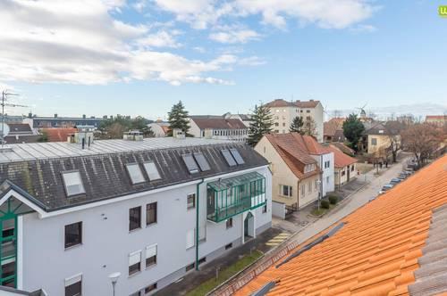 Zentrale Dachgeschosswohnung in Gänserndorf Stadt (Ruhelage)