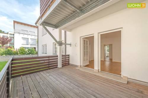 Stockerau - Marienhöhe: Gartenwohnung in absoluter Ruhelage!