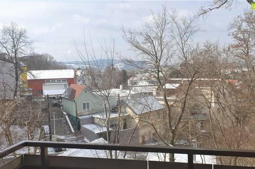 Herrlicher Ausblick und Balkon: Maisonette-Wohnung in Bisamberg - Garagenplatz inklusive!