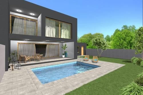 Provisionsfrei | Moderne Doppelhaushälften | Pool & Garage | 7111 Parndorf
