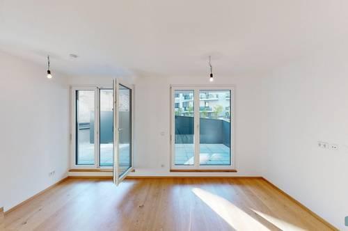 orea | Wohlfühl Wohnung mit Terrasse | Smart besichtigen · Online anmieten | PG5
