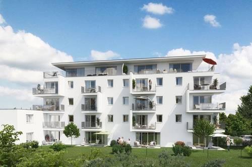 RESERVIERT! Tolle Neubau Stadtwohnung - Wohnanlage Rizzistraße 7 - Nähe Stadtpark